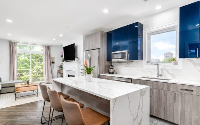 What Are Waterfall Countertops?